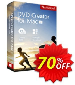 Aiseesoft DVD Creator for Mac Coupon, discount 50% Aiseesoft. Promotion: 50% Off for All Products of Aiseesoft