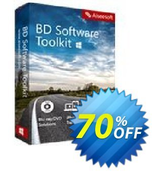 Aiseesoft BD Software Toolkit 優惠券,折扣碼 Aiseesoft BD Software Toolkit big sales code 2020,促銷代碼: 40% Off for All Products of Aiseesoft
