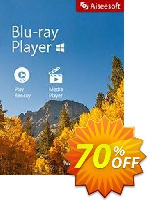 Aiseesoft Blu-ray Player offering sales Aiseesoft Blu-ray Player wondrous discount code 2020. Promotion: 40% Off for All Products of Aiseesoft