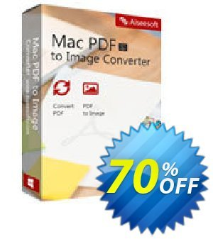 Aiseesoft Mac PDF to Image Converter 프로모션 코드 40% Aiseesoft 프로모션: 40% Off for All Products of Aiseesoft