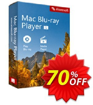 Aiseesoft Mac Blu-ray Player Coupon discount 40% Aiseesoft - 40% Off for All Products of Aiseesoft