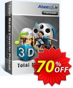 Aiseesoft Total Media Converter Platinum Coupon, discount Aiseesoft Total Media Converter Platinum staggering sales code 2020. Promotion: staggering sales code of Aiseesoft Total Media Converter Platinum 2020
