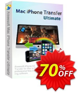 Aiseesoft Mac iPhone Transfer Ultimate Coupon, discount Aiseesoft Mac iPhone Transfer Ultimate staggering promo code 2020. Promotion: staggering promo code of Aiseesoft Mac iPhone Transfer Ultimate 2020