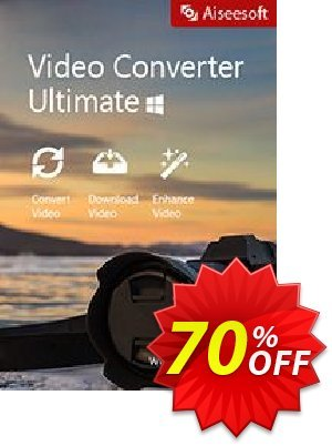 Aiseesoft Video Converter Ultimate Coupon, discount 40% Aiseesoft. Promotion: 40% Off for All Products of Aiseesoft