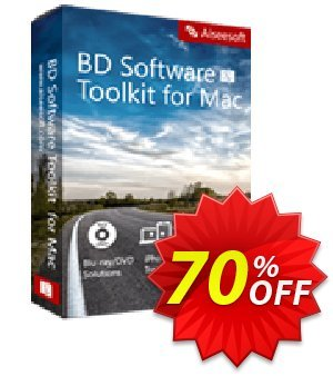 Aiseesoft BD Software Toolkit for Mac 프로모션 코드 40% Aiseesoft 프로모션: 40% Off for All Products of Aiseesoft