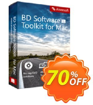 Aiseesoft BD Software Toolkit for Mac Coupon, discount 40% Aiseesoft. Promotion: 40% Off for All Products of Aiseesoft