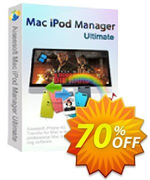 Aiseesoft Mac iPod Manager Ultimate Coupon discount 40% Aiseesoft. Promotion: