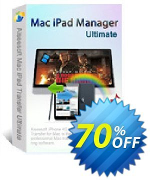 Aiseesoft Mac iPad Manager Ultimate 프로모션 코드 40% Aiseesoft 프로모션: