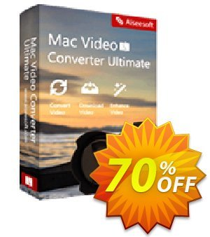 Aiseesoft Mac Video Converter Ultimate LifeTime Coupon discount 40% Aiseesoft. Promotion: 40% Off for All Products of Aiseesoft
