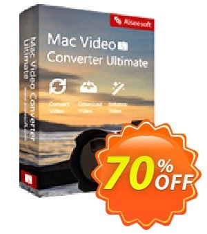 Aiseesoft Mac Video Converter Ultimate Lifetime Coupon discount 50% Aiseesoft - 50% Off for All Products of Aiseesoft