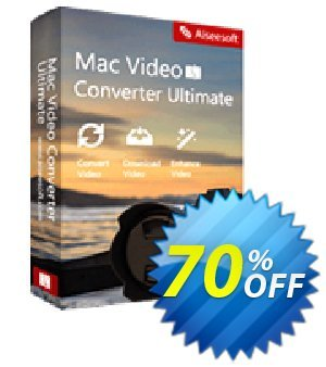 Aiseesoft Mac Video Converter Ultimate Two Years Coupon, discount 40% Aiseesoft. Promotion: 40% Off for All Products of Aiseesoft