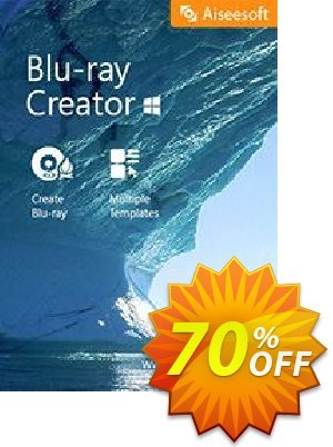 Aiseesoft Blu-ray Creator Coupon, discount Aiseesoft Blu-ray Creator formidable deals code 2020. Promotion: 40% Off for All Products of Aiseesoft