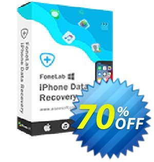 Aiseesoft FoneLab Coupon discount FoneLab - iPhone Data Recovery wonderful deals code 2020 - 40% Off for All Products of Aiseesoft