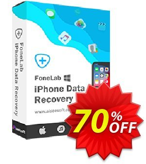 Aiseesoft FoneLab Coupon, discount FoneLab - iPhone Data Recovery wonderful deals code 2020. Promotion: 40% Off for All Products of Aiseesoft