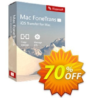 Mac FoneTrans Coupon discount 40% Aiseesoft - 40% Off for All Products of Aiseesoft
