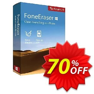 FoneEraser Coupon, discount 40% Aiseesoft. Promotion: