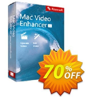 Aiseesoft Mac Video Enhancer Coupon discount 40% Aiseesoft -