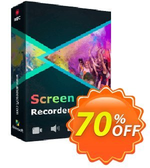 Aiseesoft Screen Recorder discount coupon 40% Aiseesoft -