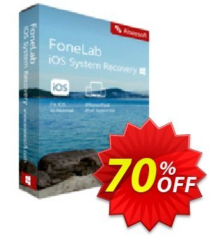 FoneLab - iOS System Recovery offering deals 40% Aiseesoft. Promotion: