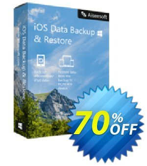 FoneLab - iOS Data Backup & Restore discount coupon 40% Aiseesoft - 40% Aiseesoft Coupon code