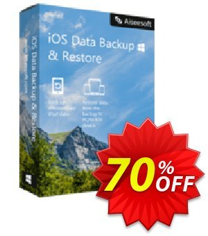 FoneLab - iOS Data Backup & Restore Coupon, discount 40% Aiseesoft. Promotion: 40% Aiseesoft Coupon code