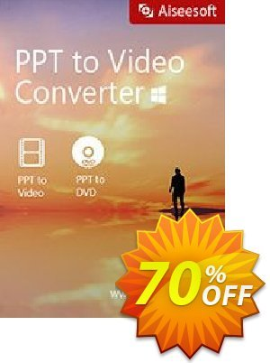 Aiseesoft PPT to Video Converter Coupon, discount 40% Aiseesoft. Promotion: 40% Aiseesoft Coupon code