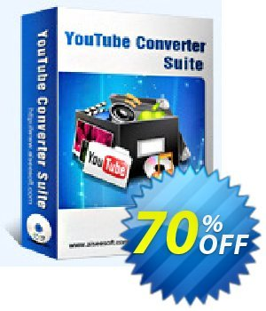 Aiseesoft Youtube Converter Suite Coupon discount . Promotion: 40% Off for All Products of Aiseesoft