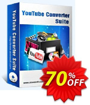 Aiseesoft Youtube Converter Suite Coupon, discount . Promotion: 40% Off for All Products of Aiseesoft