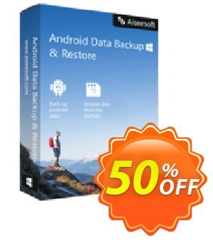 FoneLab - Android Data Backup & Restore discount coupon 40% Aiseesoft - 40% Aiseesoft Coupon code