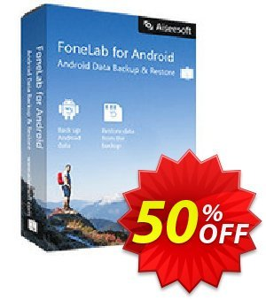 Mac FoneLab - Android Data Backup & Restore Coupon discount 40% Aiseesoft. Promotion: 40% Aiseesoft Coupon code