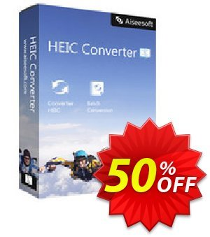 Aiseesoft HEIC Converter for Mac 優惠券,折扣碼 40% Aiseesoft,促銷代碼: 40% Aiseesoft Coupon code