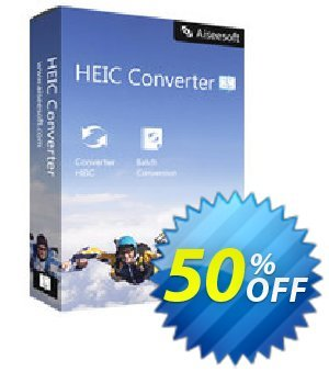 HEIC Converter for Mac Coupon, discount 40% Aiseesoft. Promotion: 40% Aiseesoft Coupon code