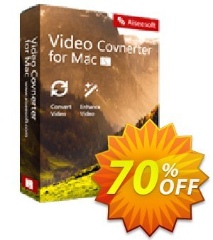 Aiseesoft Video Converter for Mac 優惠券,折扣碼 Aiseesoft Video Converter for Mac marvelous discount code 2020,促銷代碼: 50% Off for All Products of Aiseesoft