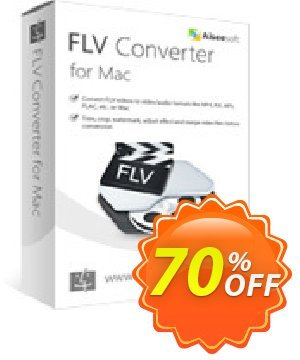 Aiseesoft FLV Converter for Mac Coupon discount 40% Aiseesoft. Promotion: 40% Off for All Products of Aiseesoft