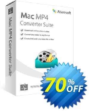 Aiseesoft Mac MP4 Converter Suite Coupon, discount 40% Aiseesoft. Promotion: