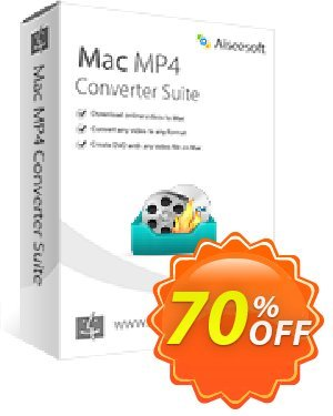 Aiseesoft Mac MP4 Converter Suite discount coupon 40% Aiseesoft -