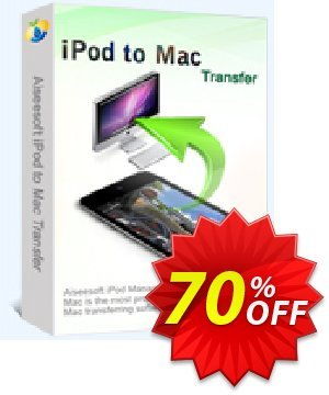 Aiseesoft iPod to Mac Transfer Coupon discount 40% Aiseesoft. Promotion: