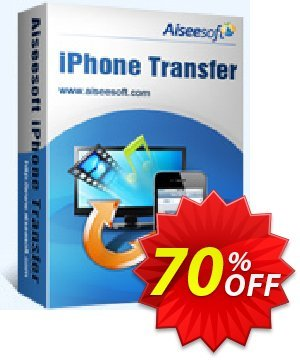 Aiseesoft iPhone Transfer discount coupon 40% Aiseesoft -