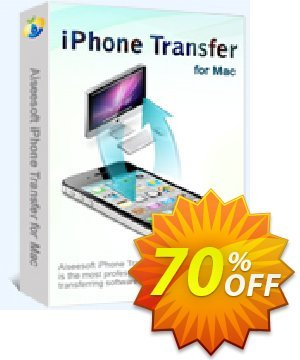 Aiseesoft iPhone Transfer for Mac Coupon discount 40% Aiseesoft. Promotion: