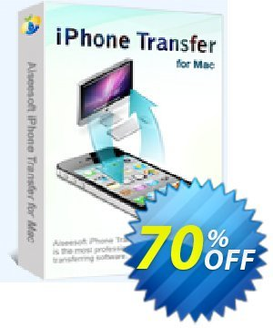 Aiseesoft iPhone Transfer for Mac Coupon, discount 40% Aiseesoft. Promotion: