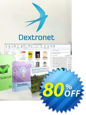 Dextronet Ultimate Bundle (Swift To-Do List and 5 more) discount coupon 80% OFF Dextronet Ultimate Bundle (Swift To-Do List and 5 more), verified - Wondrous deals code of Dextronet Ultimate Bundle (Swift To-Do List and 5 more), tested & approved