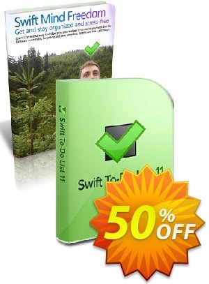 Swift To-Do List + Swift Mind Freedom discount coupon 20% OFF Swift To-Do List + Swift Mind Freedom, verified - Wondrous deals code of Swift To-Do List + Swift Mind Freedom, tested & approved