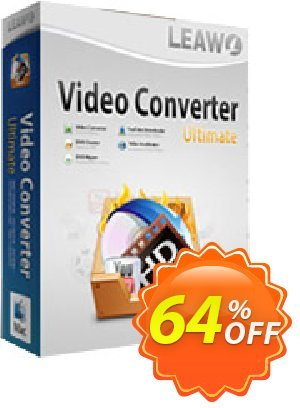 Leawo Video Converter Ultimate for Mac Coupon, discount Leawo coupon (18764). Promotion: Leawo discount