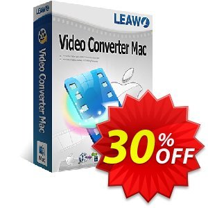 Leawo Video Converter for Mac Lifetime 프로모션 코드 Leawo coupon (18764) 프로모션: Leawo discount