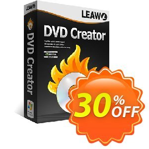 Leawo DVD Creator [LIFETIME] Coupon, discount Leawo coupon (18764). Promotion: Leawo discount
