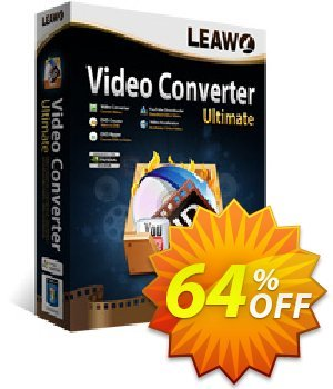 Leawo Video Converter Ultimate [LIFETIME] discount coupon Leawo coupon (18764) - Leawo discount