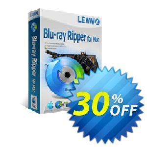 Leawo Blu-ray Ripper for Mac [LIFETIME] discount coupon Leawo coupon (18764) - Leawo discount