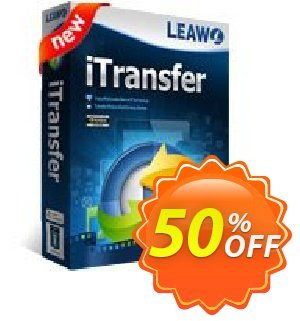 Leawo iTransfer [LIFETIME] discount coupon Leawo coupon (18764) - Leawo discount