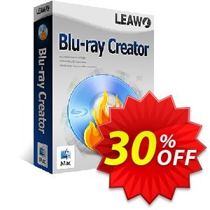 Leawo Blu-ray Creator for Mac Lifetime discount coupon Leawo coupon (18764) - Leawo discount