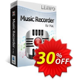 Leawo Music Recorder for Mac Lifetime discount coupon Leawo coupon (18764) - Leawo discount